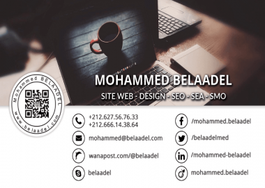 Mohammed BELAADEL - Shop - Freelancer / SEO / Web Design in Oujda, Morocco